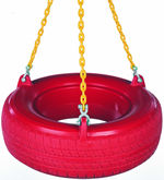 coated chain tire swing pack without swivel
